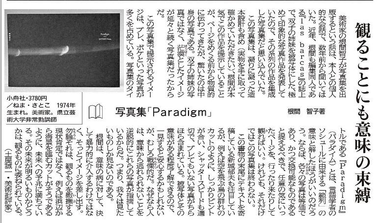 『Paradigm』書評
